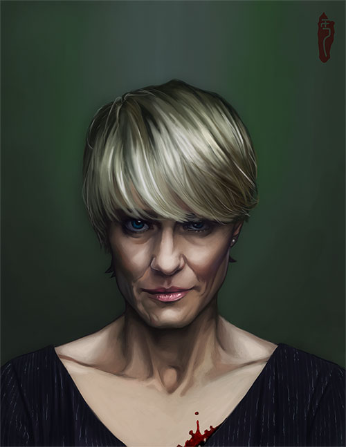claire underwood by fluorinespark-d77xglb