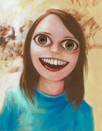 overly attached girlfriend by kevin eslinger