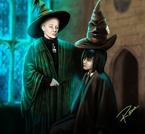 The choice of the sorting hat by SeverusSnape