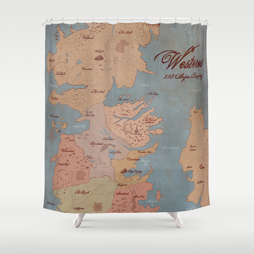 The 13 Best Fandom Shower Curtains To Nerd Up Your