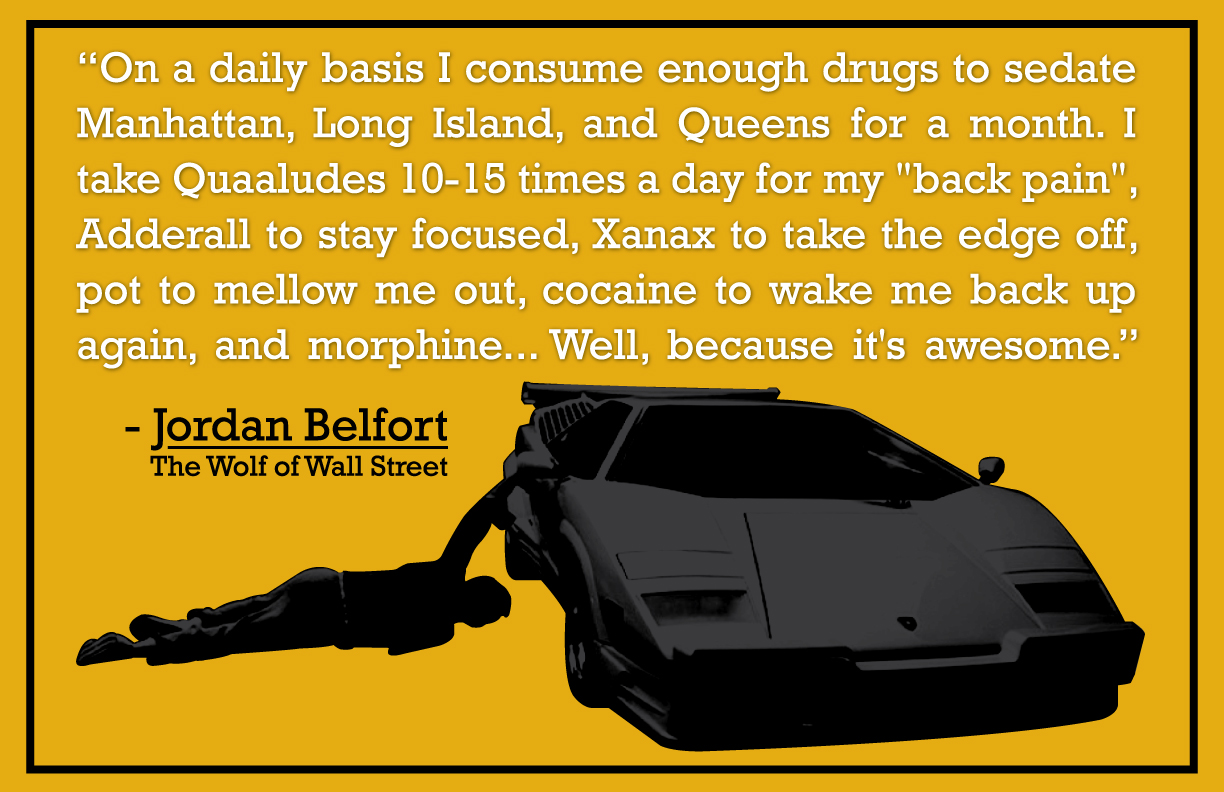 Worship The Brand - The Wolf of Wall Street Quote Poster - Graphic ...
