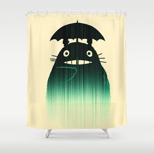 Totoro The 13 Best Fandom Shower Curtains To Nerd